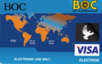 BOC Visa Classic Card