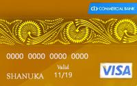 Commercial Visa Gold Card
