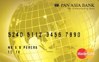 Pan Asia Master Gold Card